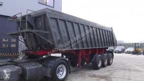 semi remorque Kässbohrer SKW 10-22L (CHASSIS AND TIPPER FROM STEEL)