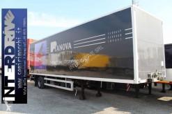 naczepa Fruehauf semirimorchio 10m furgone sponda usato monoasse