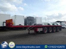 Trailer Schwarzmüller SPA4E 4 axle tweedehands platte bak