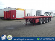 Lück SP59/4 4 axle semi-trailer used flatbed