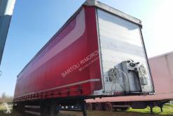 Félpótkocsi Merker SEMIRIMORCHIO, CENTINATO FRANCESE, 3 assi használt függönyponyvaroló