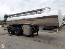 Magyar CITERNE EN INOX ISOTHERME 25000 L- 2 COMPARTIMENTS semi-trailer