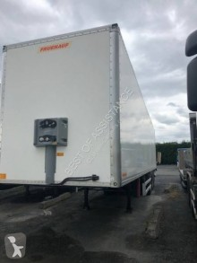 Fruehauf fourgon 3 essieux rideau FIT Hayon semi-trailer used box