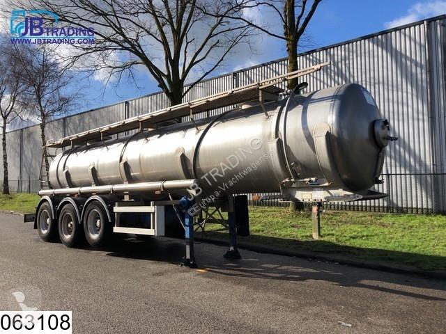 View images Maisonneuve Chemie RVS tank, 18700 Liter semi-trailer