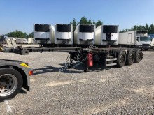 Semitrailer Merker containertransport begagnad