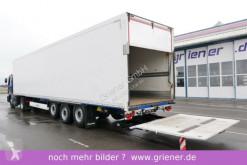 semi remorque Krone SD 27/ LBW 2500 kg /STAHLPLATTFORM 2 x LIFTACHSE
