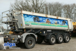 Semirimorchio ribaltabile Schmitz Cargobull SKI 24 SL/2x Liftachse/Plane/Scheibenbremse