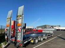 Humbaur heavy equipment transport semi-trailer Porte matériel surbaissé HTS 30 - Caoutchouc