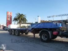 Krone heavy equipment transport semi-trailer