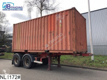 trailer Fruehauf Container 20 FT, Container Chassis + Container, L 5.94 B 2.33 H 2.28