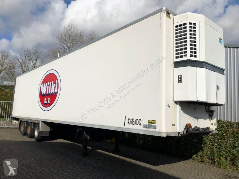 Voir les photos Semi remorque Chereau THERMOKING SB-III SLE - BPW - AIR SUSPENSION - FULL CHASSIS - GOOD CONDITION
