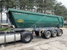 semi remorque Meiller BPW - STEEL CHASSIS / STEEL TIPPER - STAHL CHASSIS / STAH KIPPER - CHASSIS ACIER / BENNE ACIER