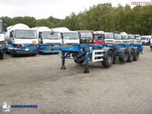 Semi remorque Dennison 4-axle container combi trailer (3 + 1 axle) 20-30-40-45 ft porte containers occasion