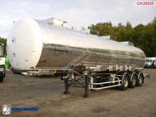 BSLT Chemical tank inox 33 m3 / 4 comp semi-trailer used chemical tanker