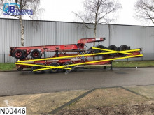trailer Fruehauf Container 20 FT , Steel suspension