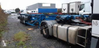 Trouillet semi-trailer used container