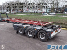 Draco container semi-trailer oplegger VDL 30tons Kabel afzet systeem