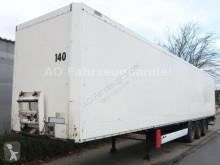 Semitrailer transportbil Krone 34000 - 3 Achsen - SAF- Koffer - Ladebordwand