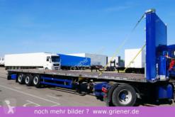 Schmitz Cargobull SCS 24/ SATTEL PLATEAU LIFT / RUNGENTASCHEN / semi-trailer