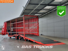 Wiese SA-31-SP-S Forklift/Gabelstapler Transporte Lenkachse Hubdach semi-trailer used heavy equipment transport