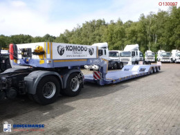Semi remorque Komodo Lowbed KMD 3 + 3 steering axles / NEW/UNUSED plateau neuve
