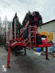 used timber semi-trailer