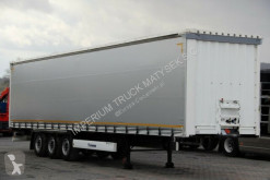 semi remorque Krone CURTAINSIDER /STANDARD /LIFTED ROOF AND AXLE /