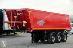 semiremorca Mega JANMIL/TIPPER 30 M3 / LIFTED AXLE / FLAP-DOORS