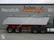 Semitrailer flak Meiller MHKS 41/2, 23 m³ Alumulde, Luft, BPW