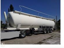 Semitrailer tank pulverformig Spitzer 65M3 basculante ALU