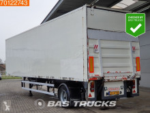 Groenewegen moving floor semi-trailer Lenkachse Ladebordwand Hartholz-Boden