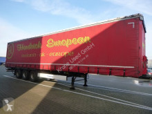 Yarı römork Krone SDP Schiebeplanen Sattelauflieger 27 eLB4-CS H tenteli platform ikinci el araç