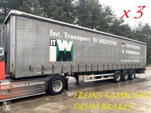 naczepa LAG BPW - FREINS TAMBOURS / DRUM BRAKES - BON CHASSIS / GOOD CHASSIS - 3 UNITEES DISPONIBLE / 3 UNITS AVAILABLE - PAQUETTE