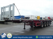 Meierling MSA 40 4 axle semi-trailer used flatbed