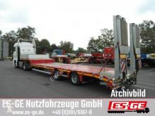 Faymonville MAX Trailer 2-Achs-Satteltieflader - Rampen semi-trailer used flatbed