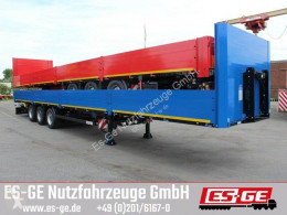Kögel 3-Achs-Multi-Sattelanhänger semi-trailer used flatbed
