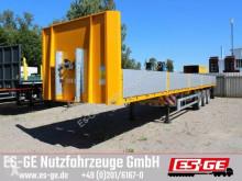 Semirimorchio Es-ge 3-Achs-Sattelanhänger - Bordwände - CV cassone usato
