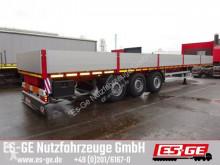 Flatbed semi-trailer Es-ge 3-Achs Sattelauflieger