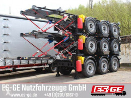 Krone flatbed semi-trailer 3-Achs-Containerchassis 20ft