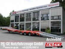 Semitrailer platta Faymonville 3-Achs-Satteltieflader mit Hebebett