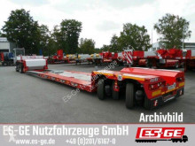 Полуприцеп Faymonville 2-Achs-Tiefbett - 2x12 t - teleskopierbar платформа б/у