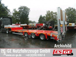 Faymonville 3-Achs-Satteltieflader - tele - Rampen semi-trailer used flatbed