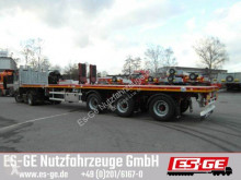 Used flatbed semi-trailer Faymonville MAX Trailer 3-Achs-Teleauflieger - hydr. gelenkt