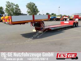 Faymonville flatbed semi-trailer 2-Achs-Tiefbett für Mähdrescher - tele