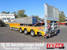 Used flatbed semi-trailer Faymonville MAX Trailer 3-Achs-Satteltieflader - tele