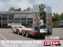 Yarı römork ES-GE Es-ge 3-Achs-Satteltieflader mit Radmulden