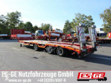 Dinkel 3-Achs-Satteltieflader - Radmulden - Rampen semi-trailer used heavy equipment transport