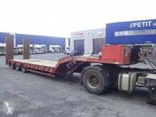 Kaiser heavy equipment transport semi-trailer Porte-engin 3 essieux