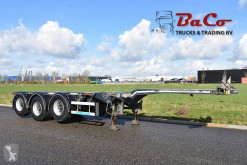 naczepa D-TEC FLEXITRAILER - 2 LIFT AXLES - DRUM BRAKES - 3 x EXTENDABLE - GOOD CONDITION -