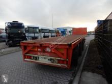 KWB Crane Trailer / 2x Steering axle / SAF / Rails semi-trailer